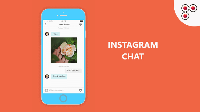 Instagram chat